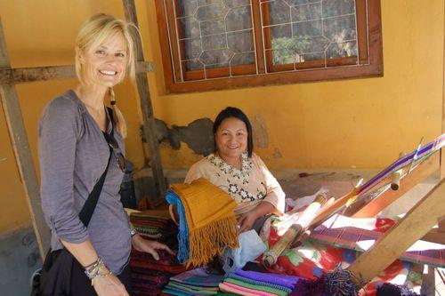 Bhutan Weaver